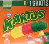Lody wodne o smaku cytrynowym i sorbet truskawkowy z zieloną polewą tłuszczową (5%) - Produkt