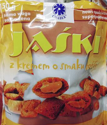 Poduszki zbożowe z kremem o smaku toffi - Produkt - pl