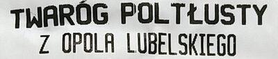 Twaróg półtłusty z Opola lubelskiego - Ingrediënten - pl