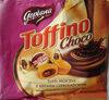 Toffi mleczne nadziewane kremem czekoladowym 18%. - Produkt