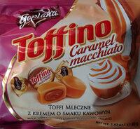 Toffi mleczne nadziewane kremem o smaku kawowym - Produkt - pl