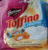 Toffi mleczne nadziewane kremem o smaku śmietankowym 18%. - Produkt