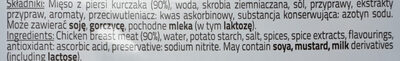 Szynka delikatesowa z kurcząt - Ingrédients