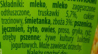 Jogurt 7 zbóż z truskawkami. - Składniki - pl
