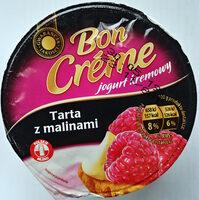 Jogurt kremowy o smaku tarty malinowej - Produkt - pl