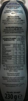 Jogurt pitny natury z wysoką zawartością białka - Ingredients