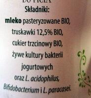 Jogurt Bio z truskawkami - Składniki - pl