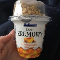 Jogurt kremowy broskwiniami - Product