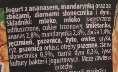 7zbóż - Składniki - pl