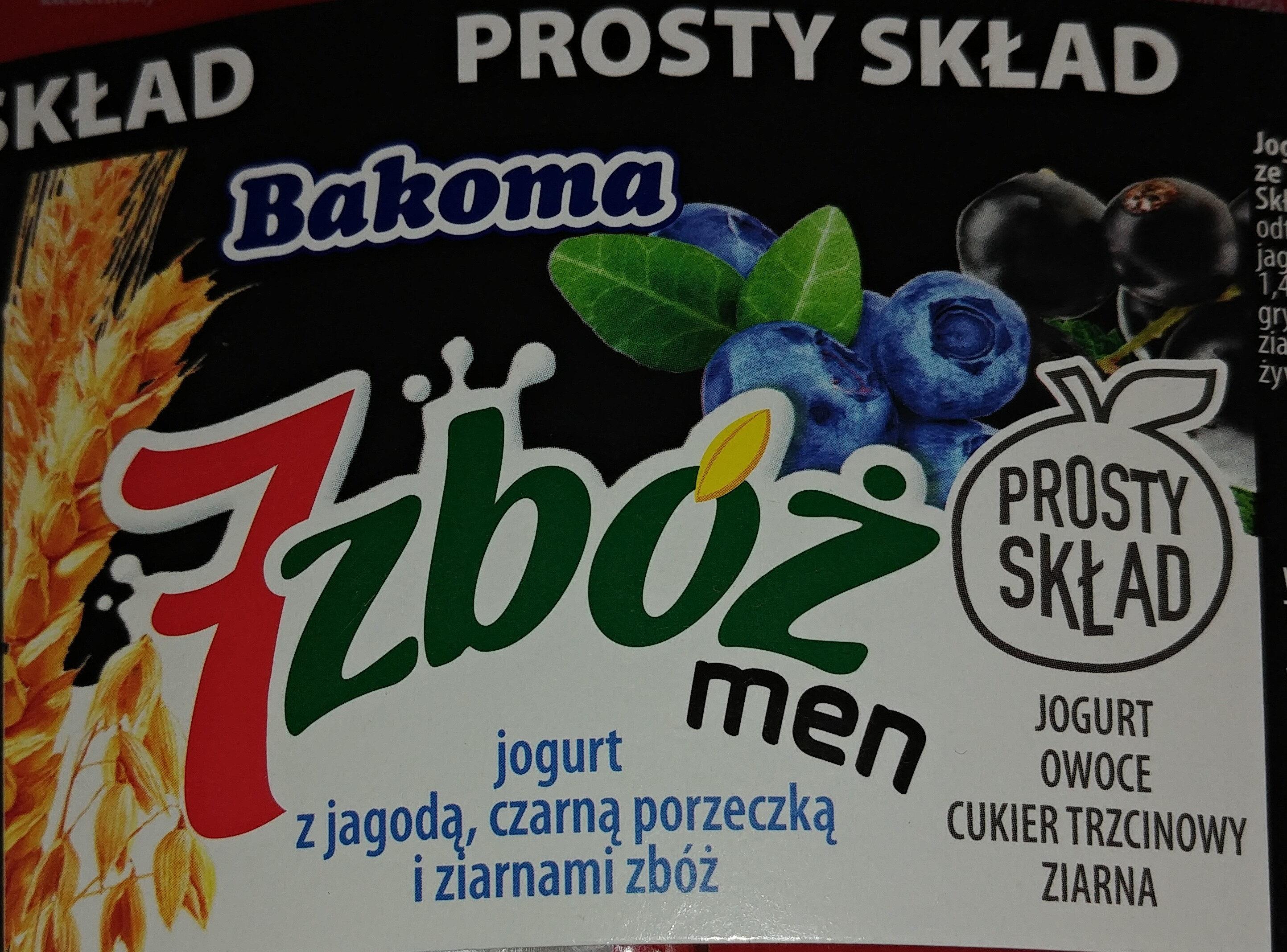 Jogurt z jagodą, czarną porzeczką i ziarnami zbóż - Produkt