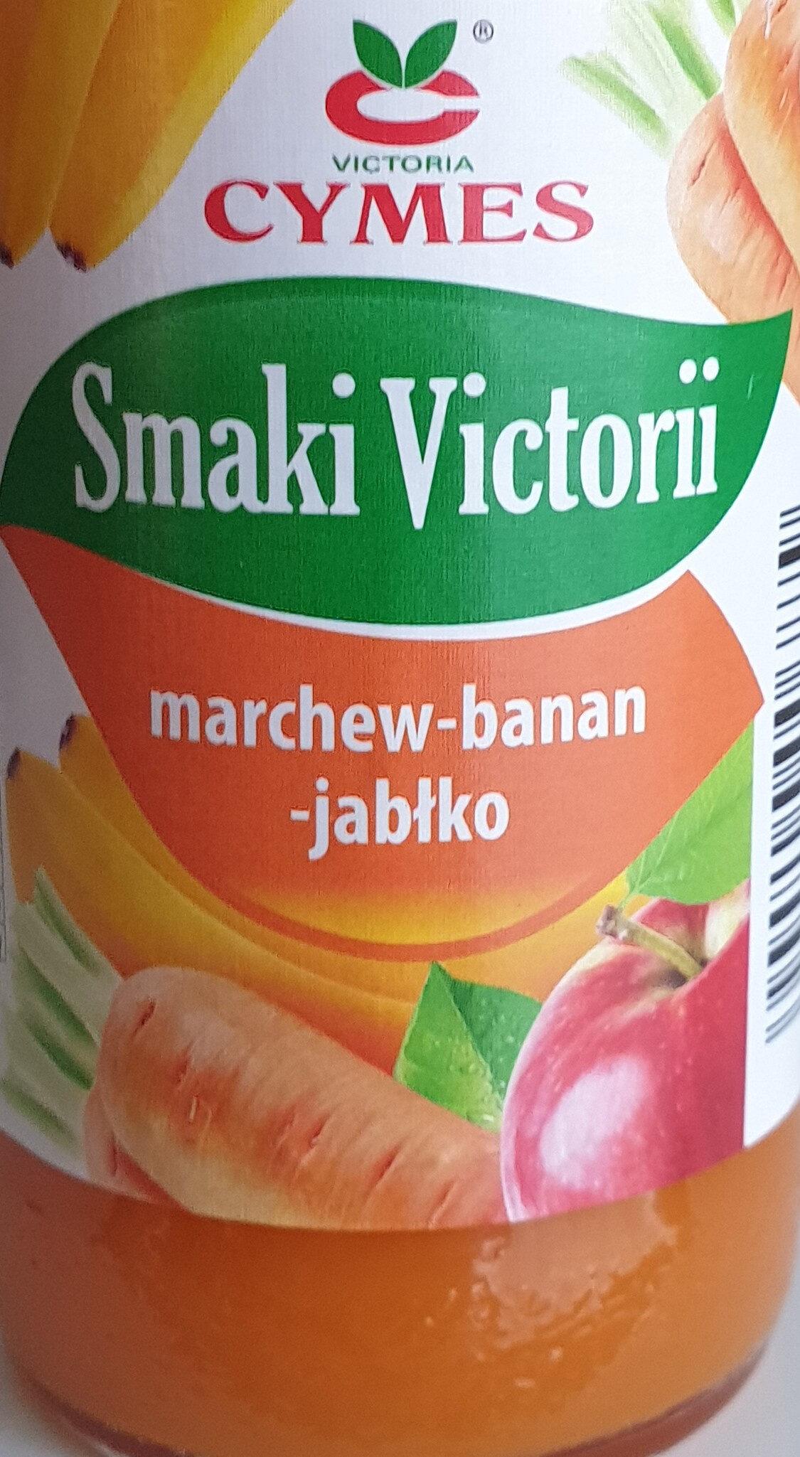 Sok marchew banan jabłko - Produkt - pl