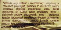 Margaryna Palma - Ingredients