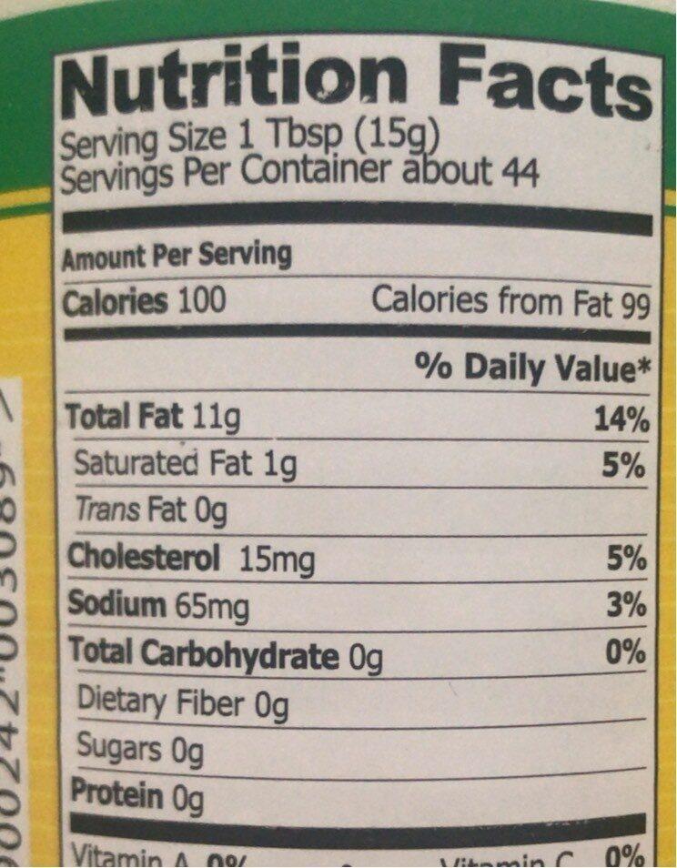 Mayonnaise Kielecki - Nutrition facts - pl
