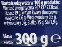Mielonka luksusowa 94 % mięsa - Nutrition facts - pl