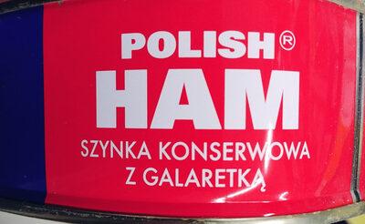 Szynka konserwowa z galaretką - Produkt - pl
