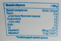 Pyszny Duet maślany smak - Nutrition facts - pl