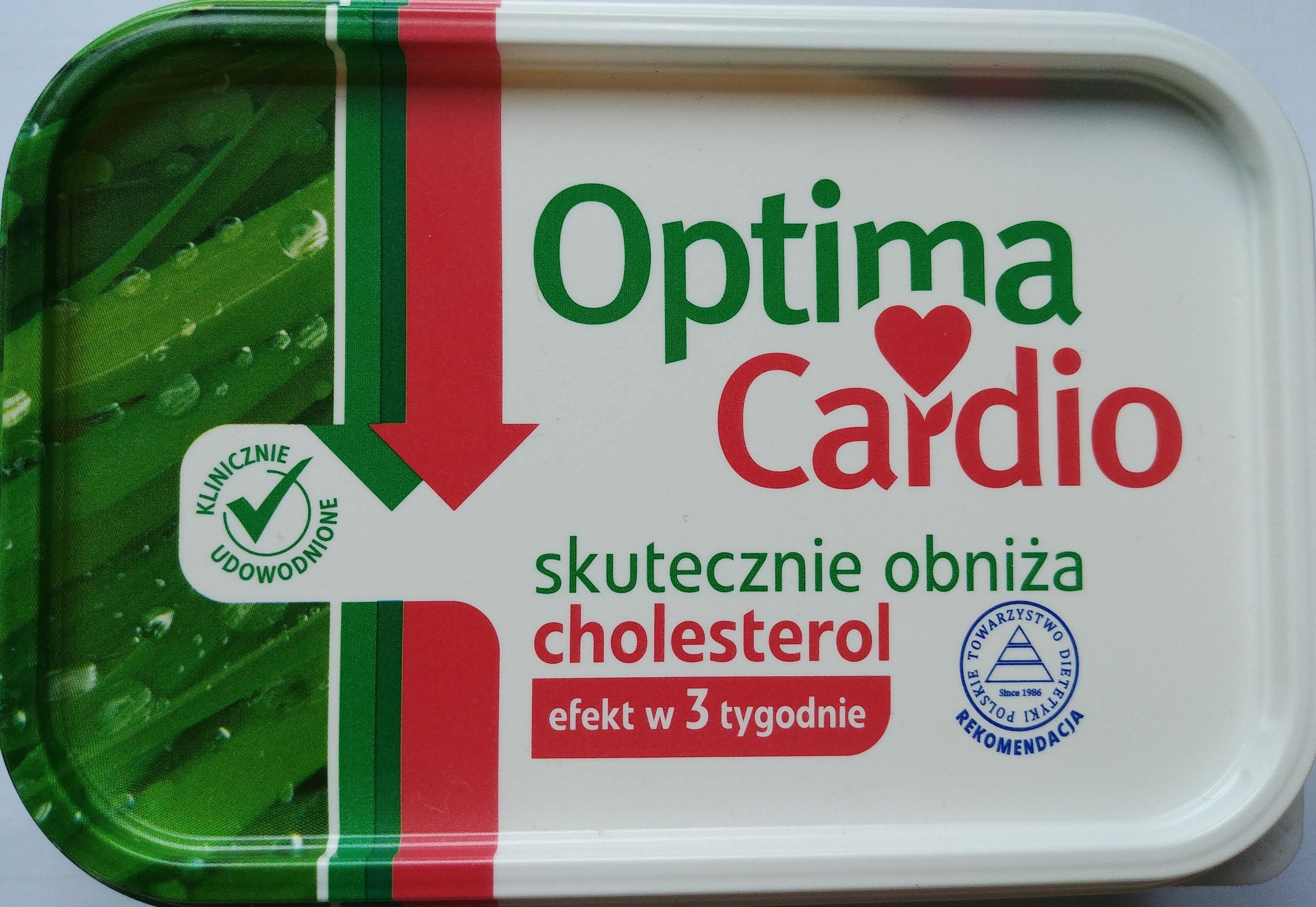Optima Cardio - margaryna roślinna - Produkt - pl