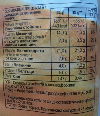 Lay's Rumeniți în cuptor cu sare - Nutrition facts