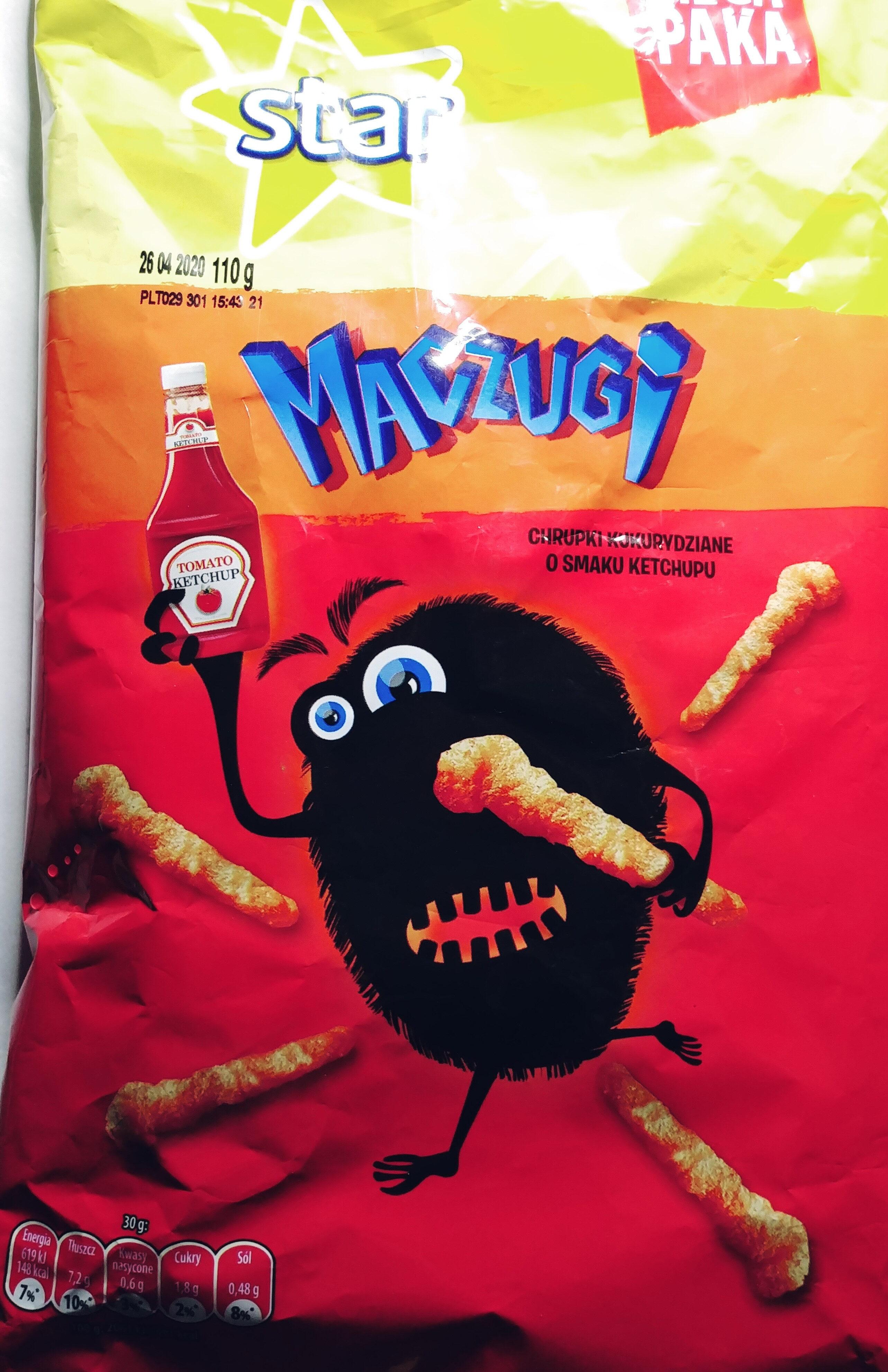 Chrupki kukurydziane o smaku ketchupu - Product - pl