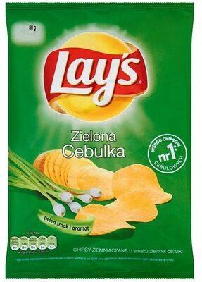 Lays Green Onion - Produkt - pl