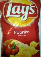 Lay's paprika - Chipsy ziemniaczane o smaku papryka. - Produkt