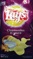 Chipsy ziemniaczane o smaku kurek w sosie - Produkt