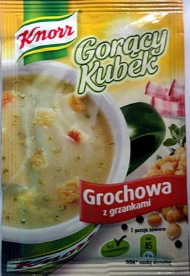 Gorący Kubek Grochowa z grzankami - Produkt - pl