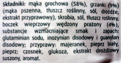 Gorący Kubek Grochowa z grzankami - Składniki - pl