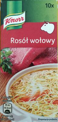 Rosół wołowy - Produkt