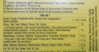 Lipton Yellow Labe Herbata Ekspresowal - Nutrition facts - pl