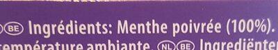 The a la menthe - Ingrediënten - fr