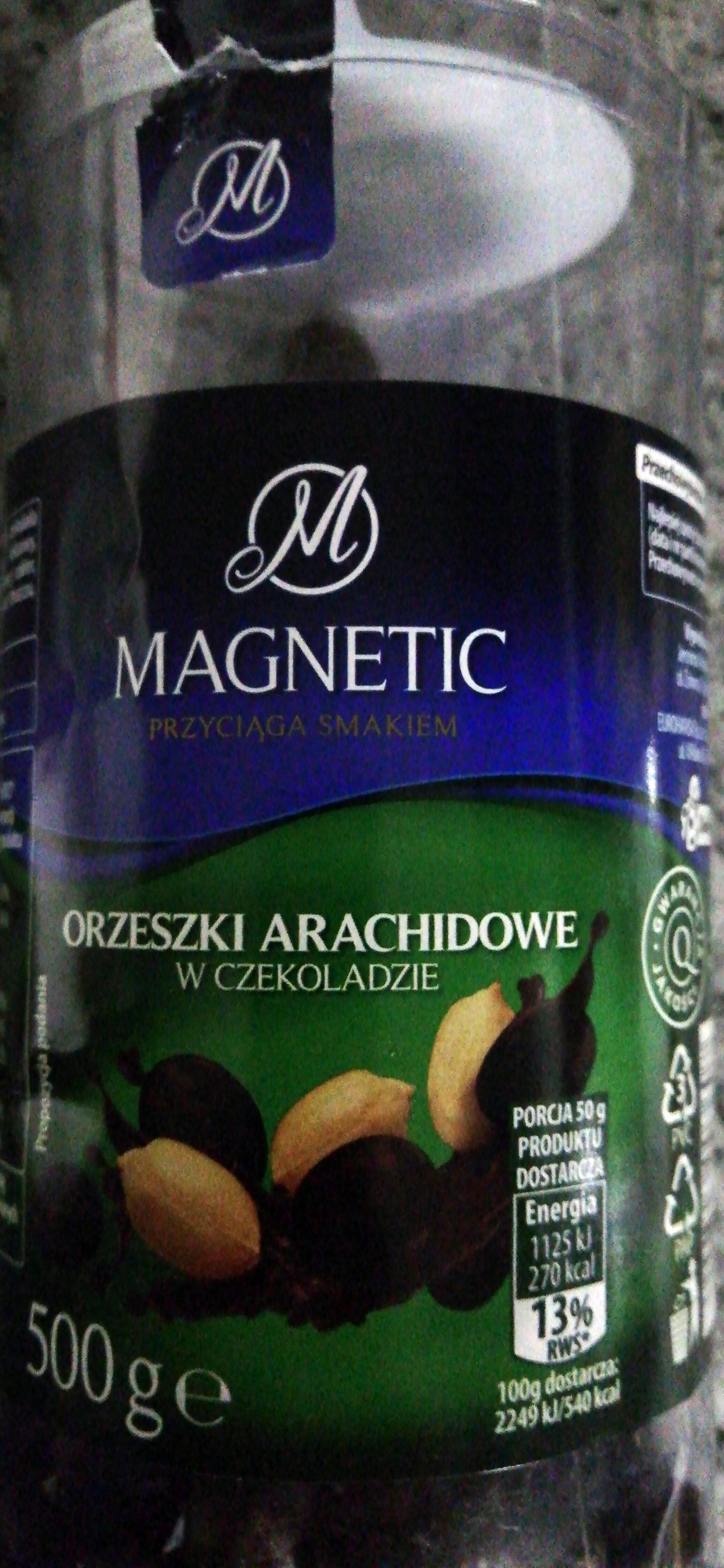 Orzeszki arachidowe w czekoladzie. - Produit - pl