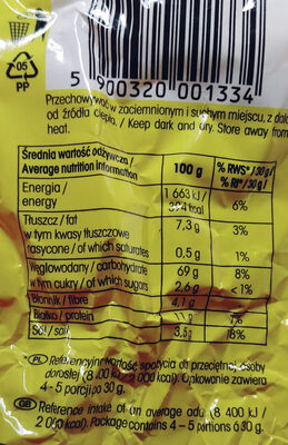 Precelki - Wartości odżywcze