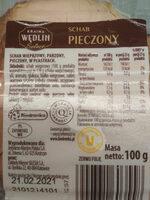Kraina Wędlin Select Schab pieczony 100g - Ingrédients - pl