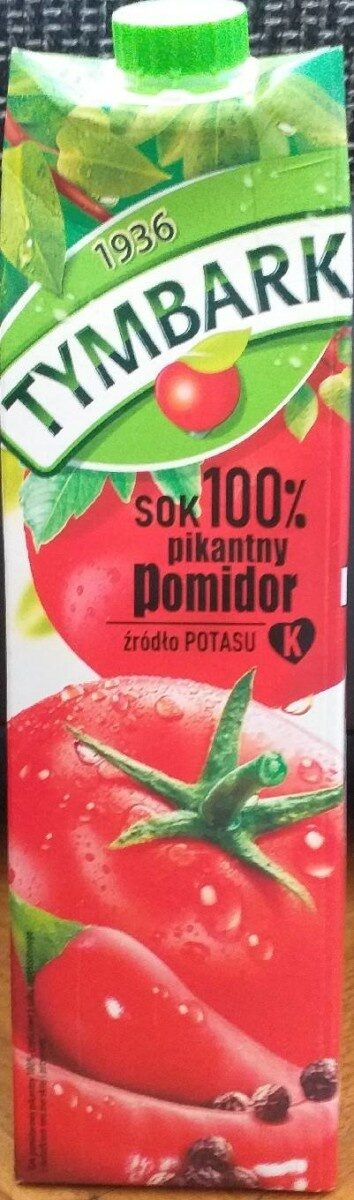 Sok pomidorowy pikantny - Produit - fr