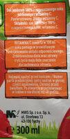 Sok jabłkowy - Składniki - pl