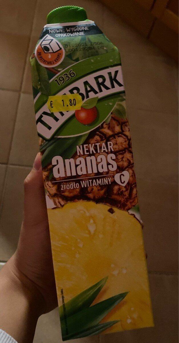 Tymbark Nektar Ananas - Produkt - pl