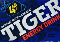 Gazowany napój energetyzujący z tauryną, kofeiną i witaminami - Produkt