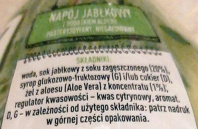 Napój jabłkowy - Ingredients - pl