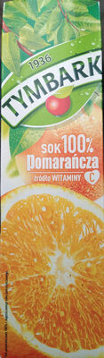Tymbark sok 100% Pomarańcza - Produkt