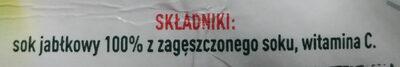 Tymbark - Składniki