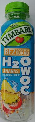 Napój z jabłek, truskawek i ananasów z witaminą C. - Produkt