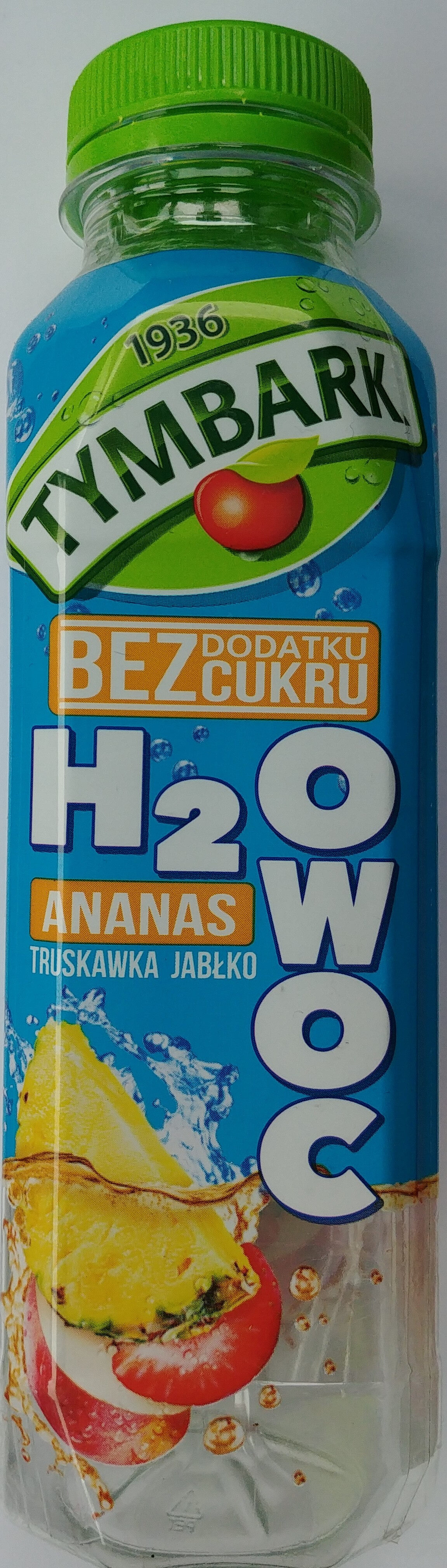 Napój z jabłek, truskawek i ananasów z witaminą C. - Produkt - pl