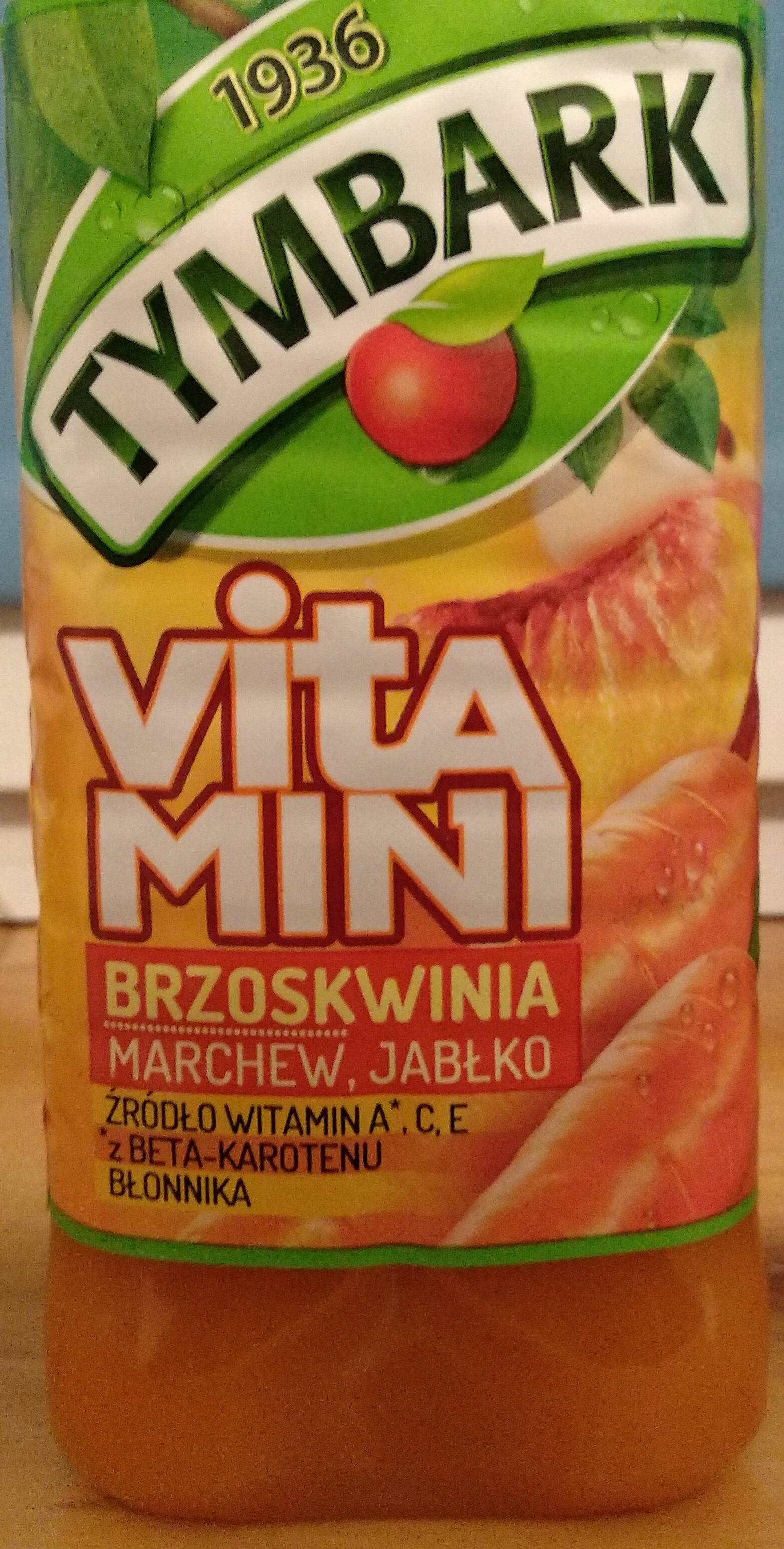 Sok z brzoskwiń, marchwi i jabłek z dodatkiem witamin C i E. - Produkt - pl