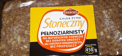 chleb pełnoziarnisty - Produkt - pl