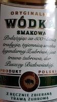 Zubrówka Bison Grass Wódka - Składniki