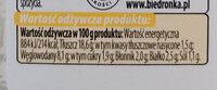 sałatka warzywna z jajkiem - Wartości odżywcze - pl