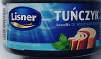 Tuńczyk w kawałkach w sosie własnym. - Produit - pl