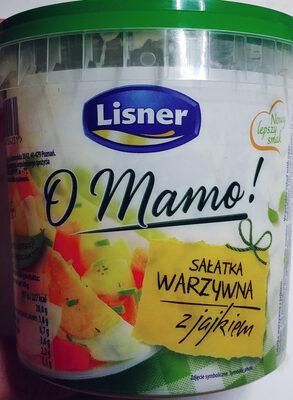 Sałatka warzywna z jajkiem - Product - pl