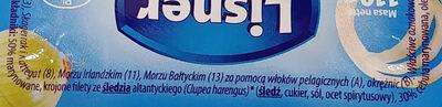 Śledzik na raz - Ingredients - pl